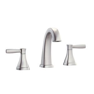 Clarice Brushed Nickel 8-Inch Widespread Bath Faucet