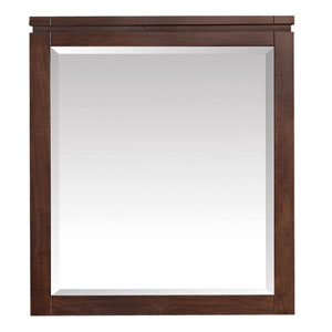 Giselle Natural Walnut 29-Inch Mirror