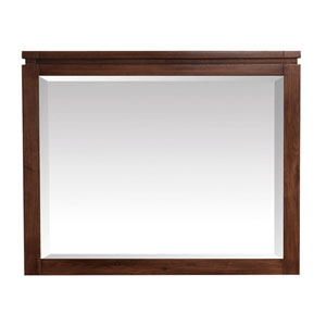 Giselle Natural Walnut 38-Inch Mirror
