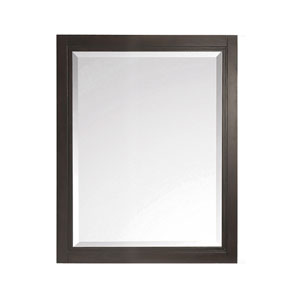 Hepburn Dark Chocolate 24-Inch Mirror
