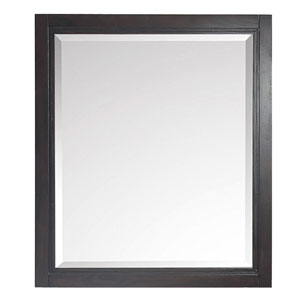 Hepburn Dark Chocolate 28-Inch Mirror