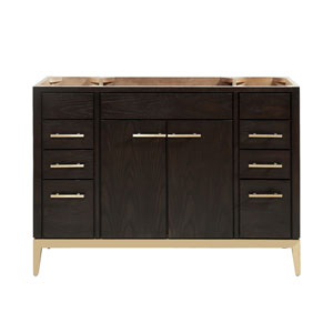 Hepburn Dark Chocolate 48-Inch Vanity Only