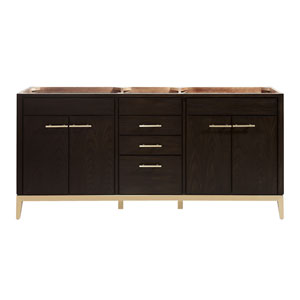 Hepburn Dark Chocolate 72-Inch Vanity Only