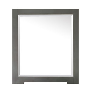 Kelly 28-Inch Grayish Blue Mirror