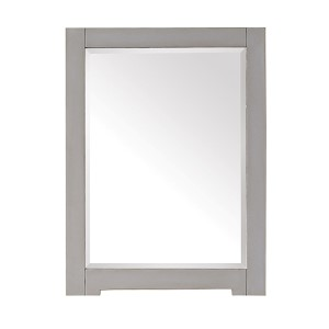 Kelly Grayish Blue 24-Inch Beveled Edge Rectangular Mirror