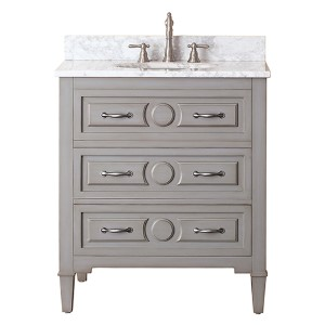 Kelly Grayish Blue 30-Inch Vanity Only