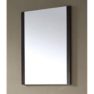 Loft 30-Inch Dark Walnut Mirror