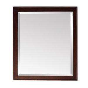 Madison Light Espresso 28 x 32 Rectangular Mirror