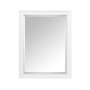 Madison White 28-Inch Mirror