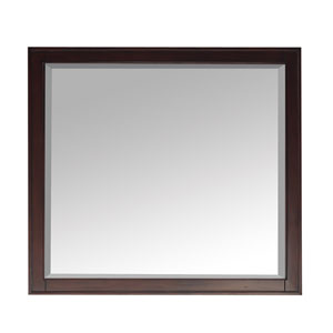 Madison Light Espresso 36 x 32 Rectangular Mirror