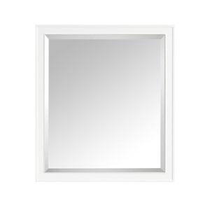 Madison White 36-Inch Mirror