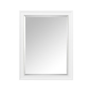 Madison White 24-Inch Mirror Cabinet