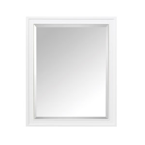 Madison White 28-Inch Mirror Cabinet