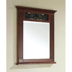 Napa 24-Inch Dark Cherry Mirror