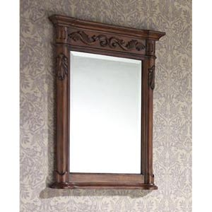 Provence 24-Inch Antique Cherry Mirror