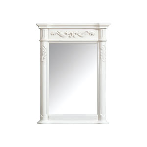 Provence Antique White 24-Inch Mirror