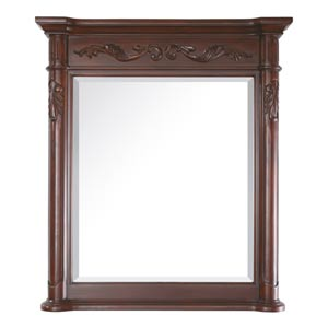 Provence 30-Inch Antique Cherry Mirror