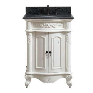 Provence Antique White 25-Inch Vanity Combo