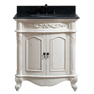 Provence Antique White 31-Inch Vanity Combo