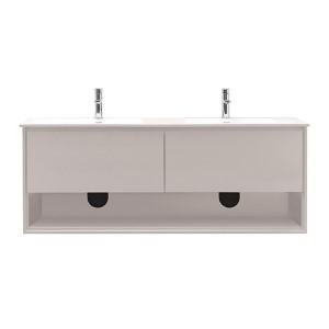 Sonoma White 63-Inch Vanity Only