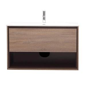 Sonoma Restored Khaki Wood 39-Inch Vanity Combo