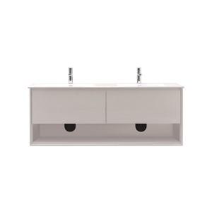 Sonoma White 63-Inch Vanity Combo