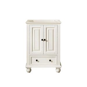 Thompson French White 24-Inch Vanity Only