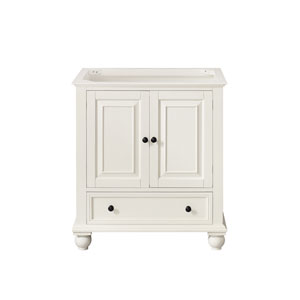 Thompson French White 30-Inch Vanity Only