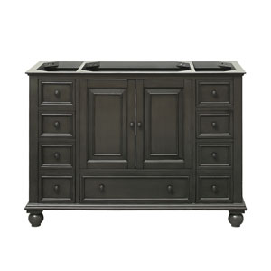 Ordinaire Thompson Charcoal Glaze 48 Inch Vanity Only