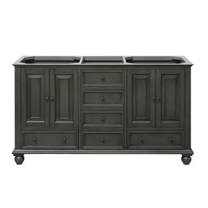 Thompson Charcoal Glaze 60-Inch Vanity Only