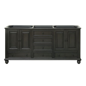 Thompson Charcoal Glaze 72-Inch Vanity Only