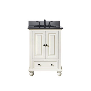 Thompson French White 25-Inch Vanity Combo