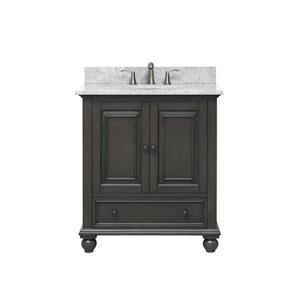 Thompson Charcoal Glaze 31-Inch Vanity Combo