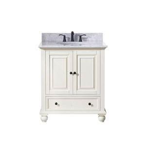 Thompson French White 31-Inch Vanity Combo