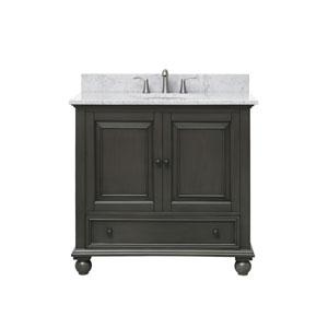 Thompson Charcoal Glaze 37-Inch Vanity Combo