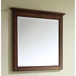Tropica 30-Inch Antique Brown Mirror