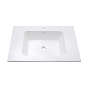VersaStone Matte 31-Inch Solid Surface Vanity Top with Integrated Bowl