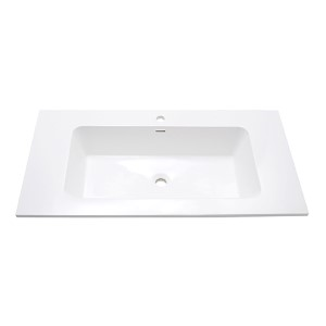 VersaStone Matte 39-Inch Solid Surface Vanity Top with Integrated Bowl