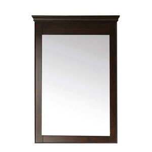 Windsor 24-Inch Mirror in Walnut Finish