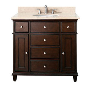 Windsor Walnut 36 Inch Vanity