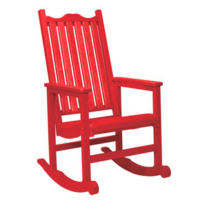Generations Casual Porch Rocker-Red
