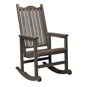 Generations Casual Porch Rocker-Chocolate