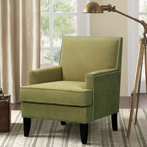 Colton Green Track Arm Club Chair