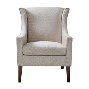 Addy Cream Wing Chair