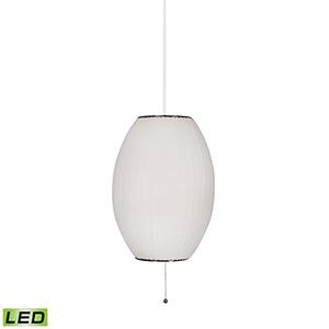 Cigar White LED Table Lamp