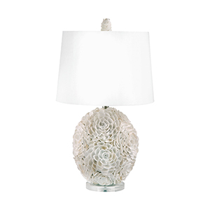 Shell Natural One-Light Table Lamp