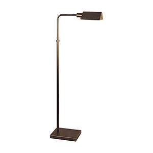 Pharmacy Bronze One-Light Floor Lamp