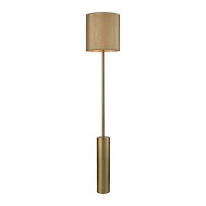 Goldfellow Weathered Antique Brass One-Light Floor Lamp