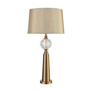 Joule Cafe Bronze One-Light Table Lamp