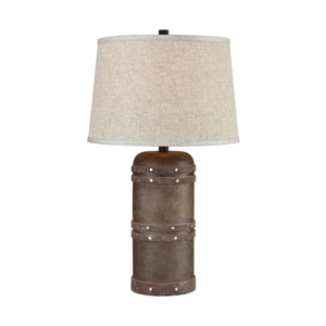 Alamo Dark Brown 26-Inch One-Light Table Lamp